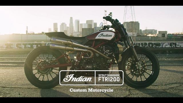 画像: Scout FTR1200 Custom - Indian Motorcycle youtu.be