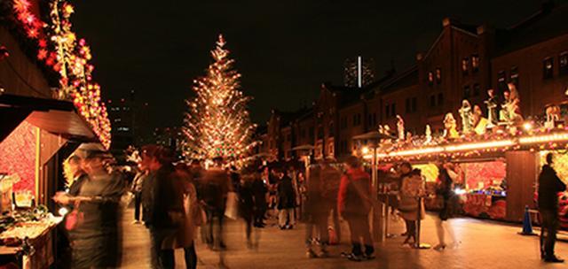 画像: クリスマスマーケットin 横浜赤レンガ倉庫