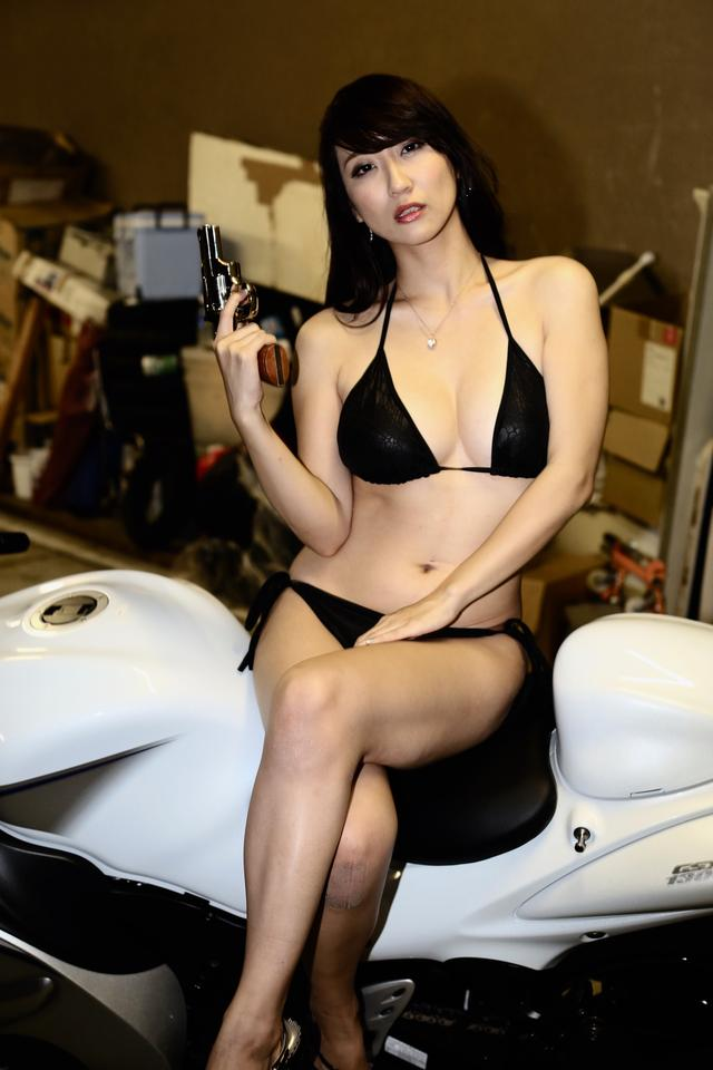 画像1: 【Beauty & Bike】ミクと隼 vol.45