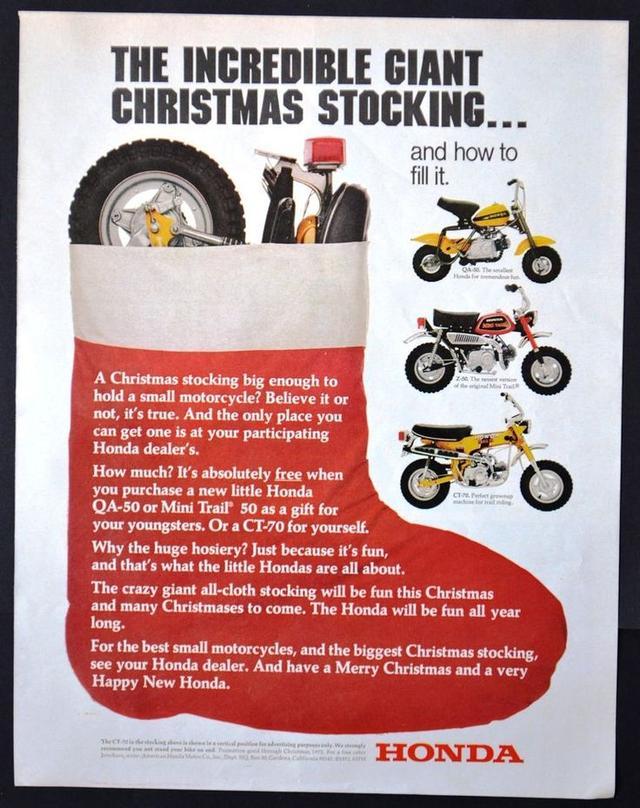 画像: クリスマス特集! 昔のモーターサイクル広告モンド?セレクション。 - LAWRENCE - Motorcycle x Cars + α = Your Life.