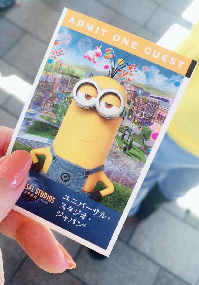 画像: チケットがミニオン♡色んな種類あります!