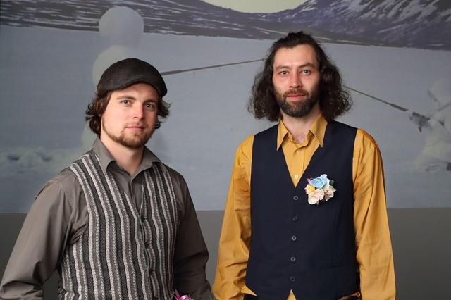 画像: グランプリ受賞者 トロン・アンステン氏(右)/ベンヤミン・ブライトコプフ氏(左)