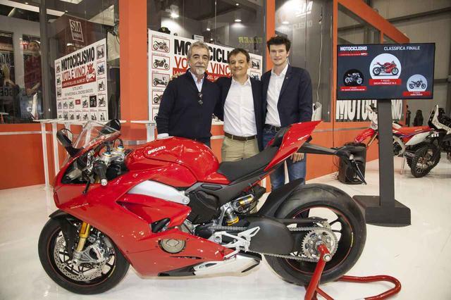 画像: この新しいドゥカティのスーパーバイクは、2位に大差をつけ、全得票数の61.17%を集めました。 Press Office Ducati Japan
