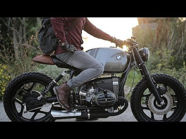 画像: Custom BMW R80RT by Vintage Room Motorcycles www.youtube.com