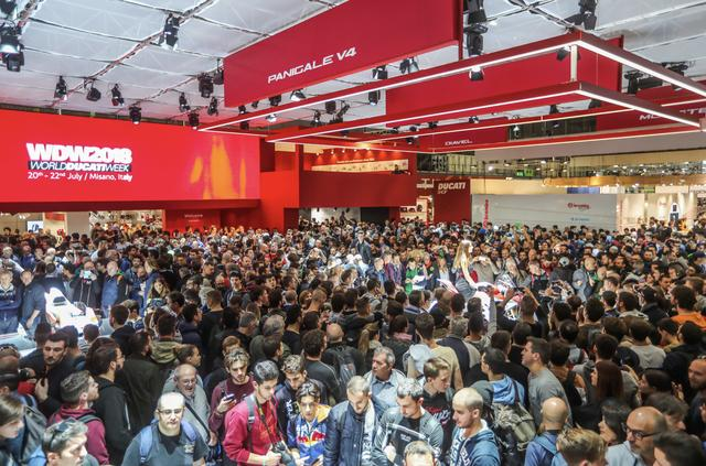 画像: 第75回EICMAは、過去最高の来場者数を記録して成功裏に終了 Press Office Ducati Japan