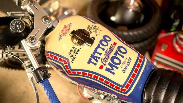 画像: Honda CB360 Brat Cafe by Tattoo Customs www.youtube.com