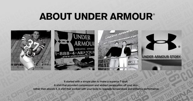 画像: About UA | UNDER ARMOUR(アンダーアーマー)