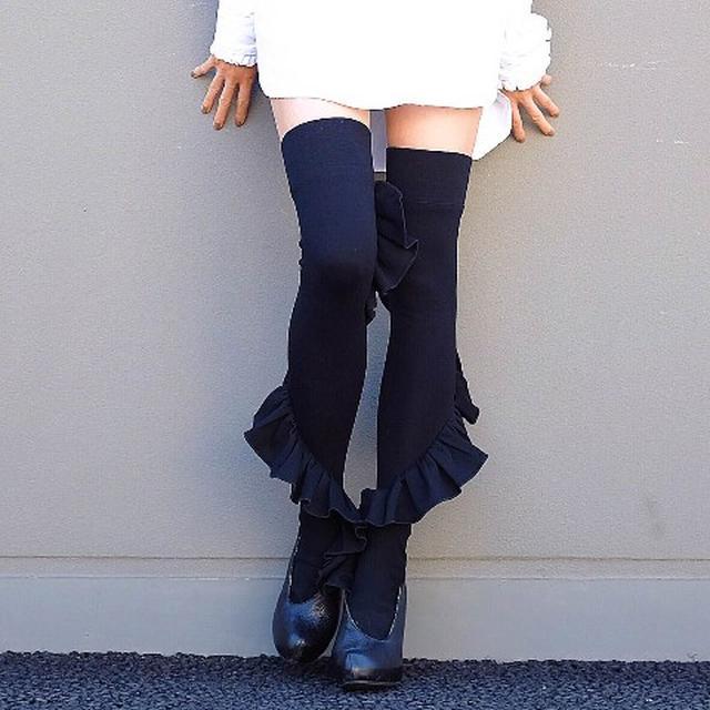 画像: ERIMAKI SOX 8,640 円(税込)エリマキトカゲを彷彿とさせるデザイン、、?もう私には分からないよ!!泣 vvstore.jp