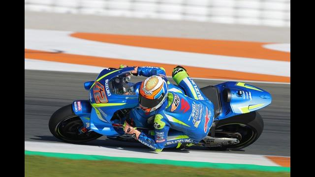 画像: SUZUKI ECSTAR VALENCIA MotoGP TEST youtu.be