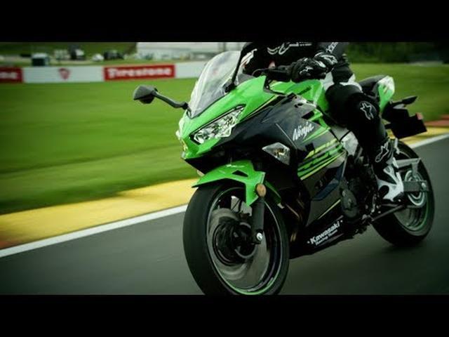 画像: 2018 Kawasaki Ninja 400 | Handling www.youtube.com