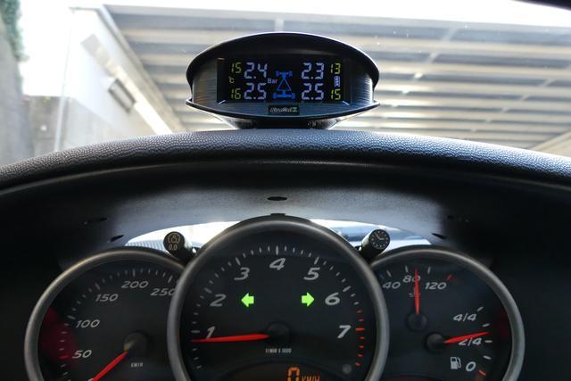 画像: タイヤの空気圧と空気の温度が目に見える!