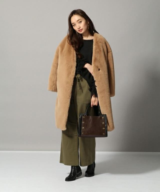 画像: 大人っぽく着こなすにはベージュがぴったり。 zozo.jp