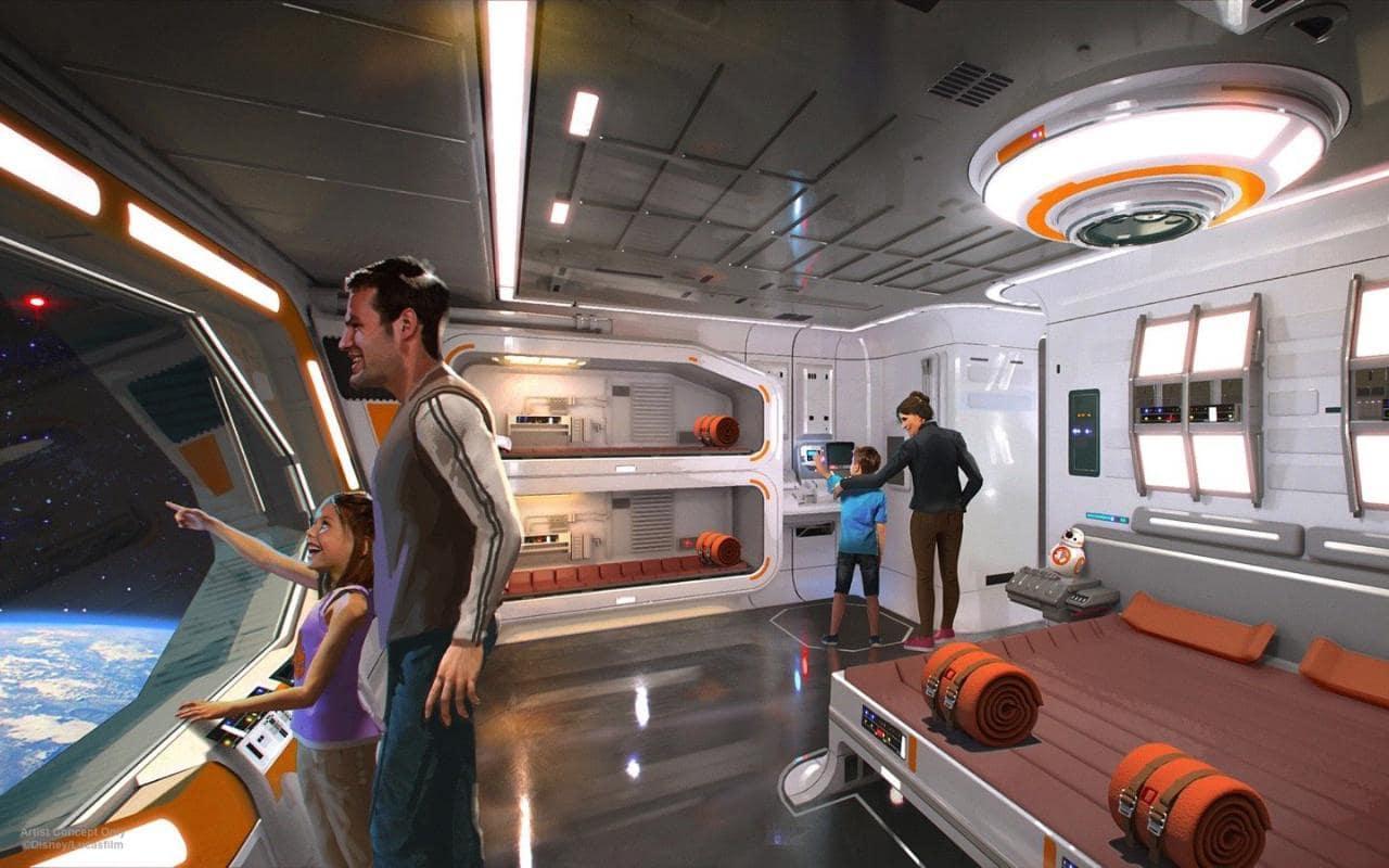 画像: The world's first official Star Wars-themed hotel to open at Walt Disney World Orlando