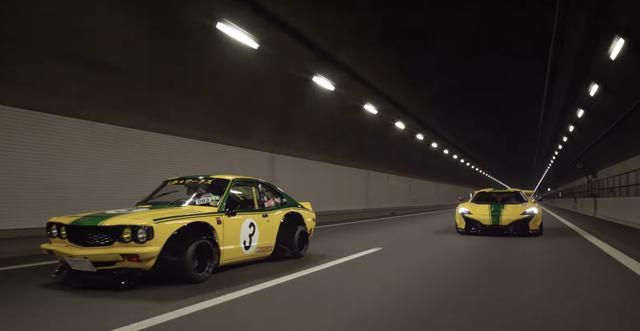 画像: 湾岸ミッドナイトよろしくスーパーカスタムカーが激走 www.youtube.com