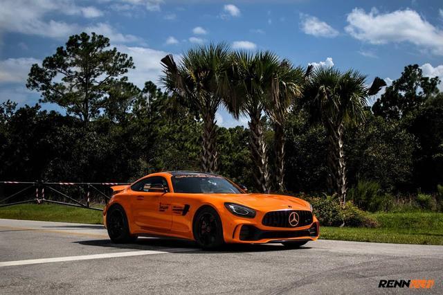 画像: Renntech Unleashed This Orange Mercedes-AMG GT R