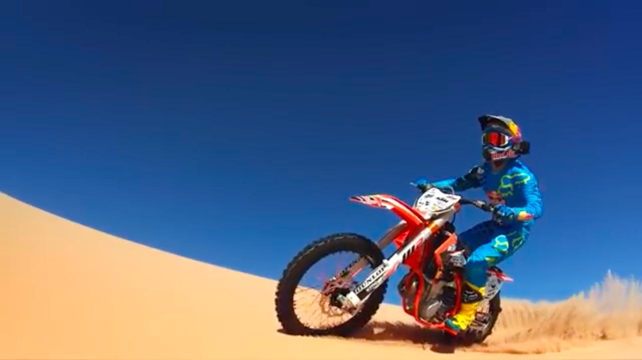 画像: ライダーはX Gamesなどで大活躍する名手、ロニー・レンナーです! www.youtube.com