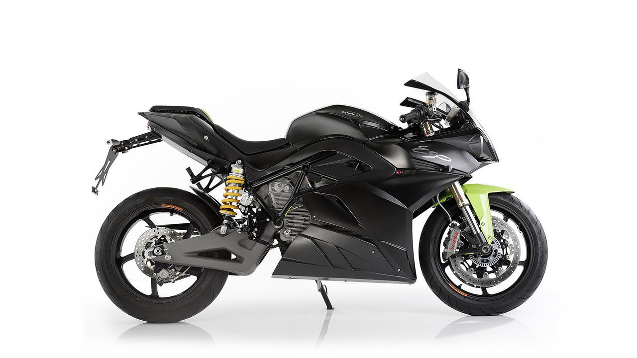 画像: Electric Motorcycle Energica Ego. The first italian all electric motorcycle