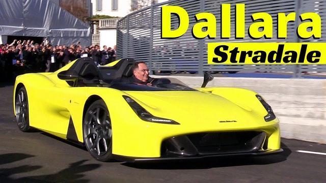 画像: Dallara Stradale - Finally unveiled its first street legal supercar - On the Road World Premiere! - YouTube youtu.be