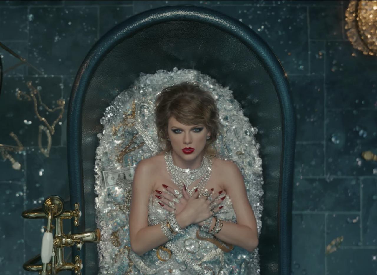 画像1: Taylor Swift - Look What You Made Me Do www.youtube.com