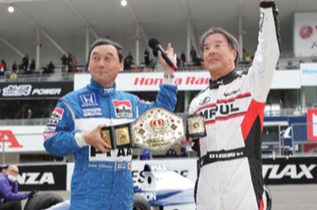 画像: 中嶋悟氏(左)と星野一義氏(右)