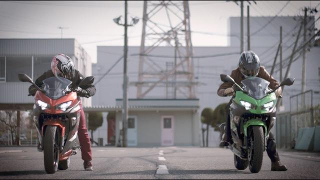 画像1: LAWRENCE x KAWASAKI ALL NEW Ninja 250 & 400の超短尺動画公開! youtu.be