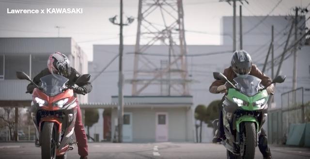 画像1: ドラッグレース風のカワサキの新型Ninja250&400。果たして速いのはどっち・・!?