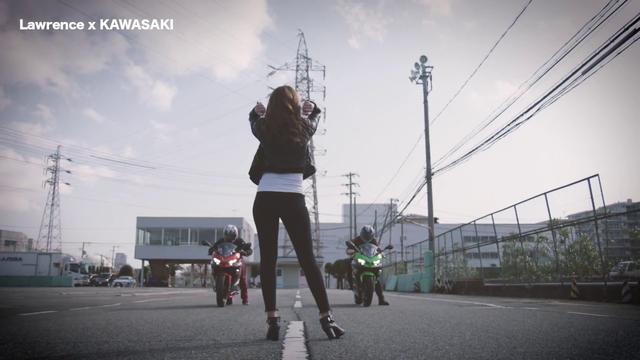 画像2: LAWRENCE x KAWASAKI ALL NEW Ninja 250 & 400の超短尺動画公開! youtu.be