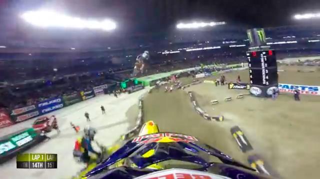 画像: 最初の周回の半ばまでは14位・・・まさかここから、1位まで上り詰めるとは・・・さすがマルチタイム・チャンピオンです! www.youtube.com
