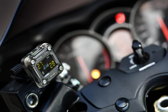 画像1: タイヤの空気圧が目に見える!