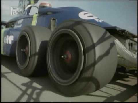 画像: Jackie Stewart tests the P34 Tyrrell 6 wheeler youtu.be
