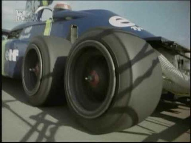 画像: Jackie Stewart tests the P34 Tyrrell 6 wheeler youtu.be