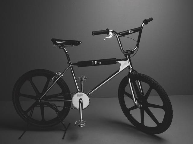 画像: Dior Homme adds a Touch of Style to This Bogarde BMX