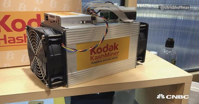 画像: This $3,400 bitcoin-mining machine is a cornerstone of Kodak's crypto pivot
