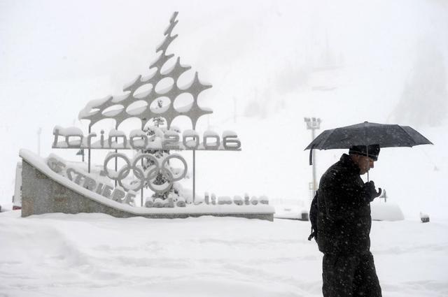 画像: ピエモンテ州トリのノオリンピック会場には避難勧告も https://www.thelocal.it/20180109/italy-avalanches-record-temperatures