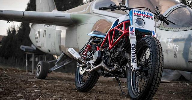 画像: How to turn a wrecked Ducati 750SS into a tracker