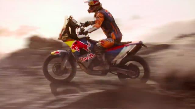 画像: 後輪が巻き上げるサンドの描画が見事です! www.youtube.com