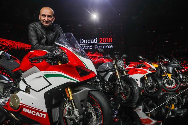 画像: 「2017年は、ドゥカティにとって、ビジネスおよびモータースポーツの両面で再び成長を遂げた年」 ドゥカティ・モーターホールディングCEO、クラウディオ・ドメニカーリ語る。