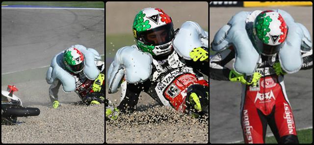 画像: 2010年時のダイネーゼ D-Airシステム www.bikebandit.com
