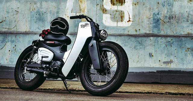 画像: The new Honda Super Cub launches today, with a custom from K-Speed