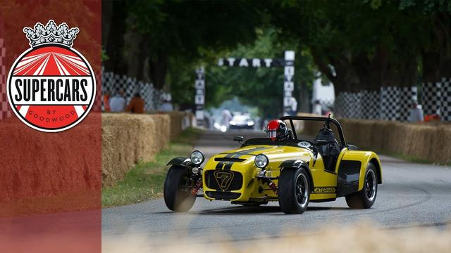 画像: Outrageous sliding Caterham hill climb at FOS youtu.be