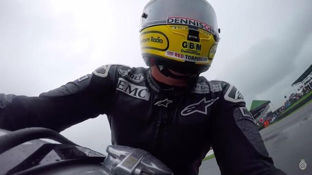 画像: クラシックに乗っても速いJ.マクギネスの、ノートンのオンボード映像! - LAWRENCE - Motorcycle x Cars + α = Your Life.
