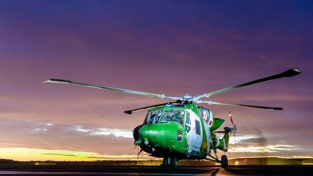 画像: World's fastest helicopter bows out in Britain