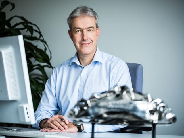 画像: 開発部門長のFrank Götzke氏 newatlas.com