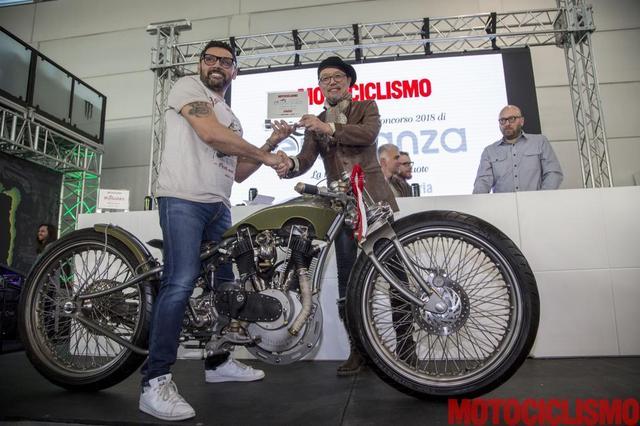 画像: 1917 Harley-Davidson by Gallery Motorcycle : ZagatoのNorihiko Harada氏が選考員に参加しています。 www.motociclismo.it