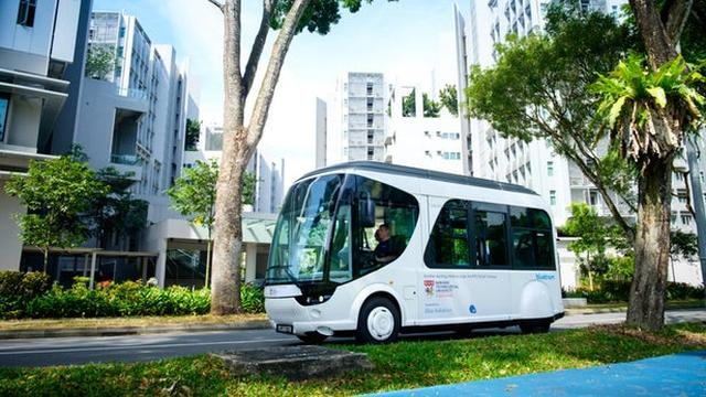 画像: Singapore university gets a flash-charging shuttle