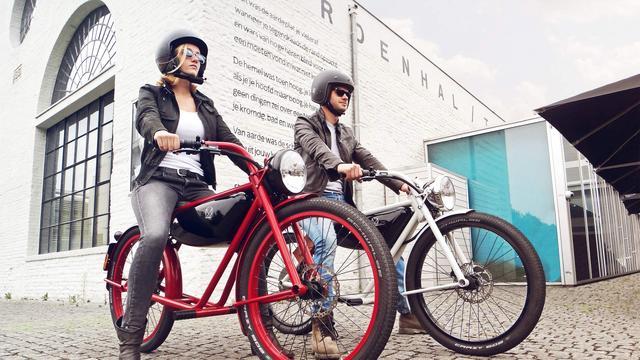 画像: MEIJS Motorman - the 100% electric moped from Maastricht