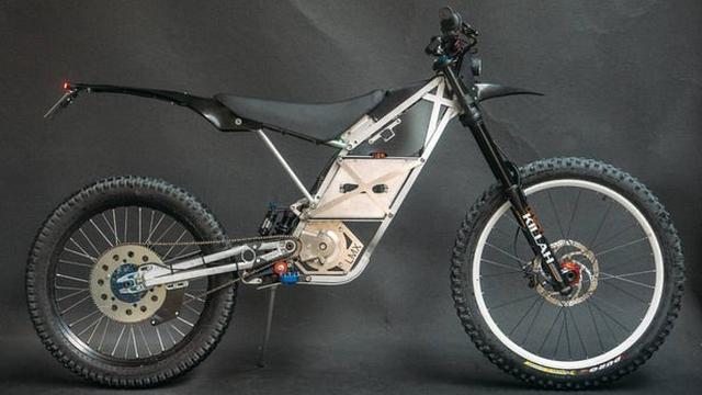画像: Electric off-roader blurs the line between motorcycle and bicycle