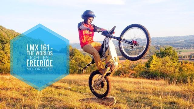 画像: LMX 161 - THE WORLDS LIGHTEST FREERIDE MOTORCYCLE youtu.be