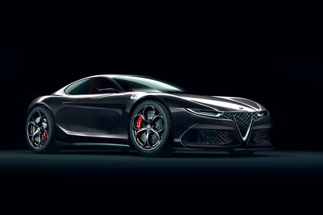画像: Alfa Romeo 6C, la coupテゥ sarテ parente stretta della Maserati Alfieri? - QN Motori