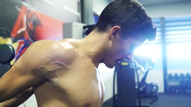 画像: Marc Marquez hits the gym for the MotoGP season youtu.be